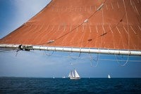 Horizontal Schooner Rigging, Cape Ann, Massachusetts Fine Art Print