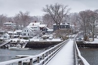 Cape Ann In The Winter, Massachusetts Fine Art Print