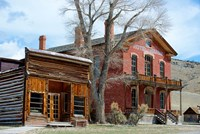 An 1862 Gold Rush Town In Bannack, Montana Fine Art Print