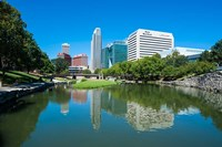 City Park Lagoon In Omaha, Nebraska Fine Art Print