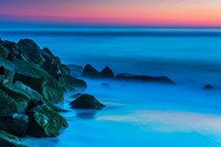 Cape May In Aqua, New Jersey Fine Art Print