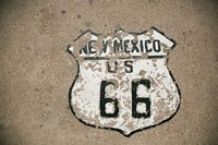 New Mexico State Route 66 Sign Fine Art Print