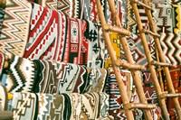 Native American Rugs, Albuquerque, New Mexico Fine Art Print