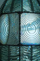 Close Up Pattern Of The Antique Fresnel Lighthouse Beacon Fine Art Print