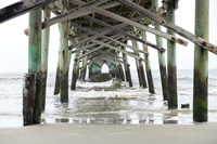 Oceanic Pier, Wilmington, North Carolina Fine Art Print