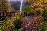 South Falls In Autumn, Oregon Fine Art Print