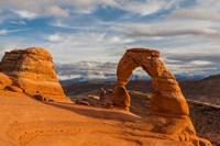 Delicate Arch At Sunsetm Utah Fine Art Print