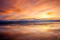 Sunset Over The Great Salt Lake, Utah Fine Art Print