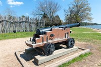 Jamestown Island Cannonm Virginia Fine Art Print