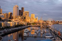 Seattle Skyline From Pier 66, Washington Fine Art Print