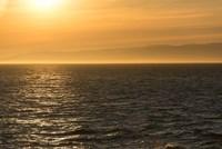 Evening Light At The Strait Of Juan De Fuca Fine Art Print