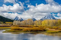 Grand Teton National Park Panorama, Wyoming Fine Art Print