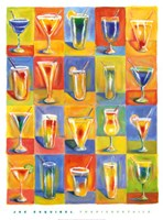 "Tropicocktails by Joe Esquibel - 20"" x 27"""