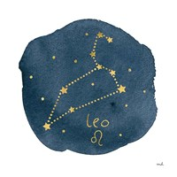 Horoscope Leo Fine Art Print