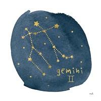 Horoscope Gemini Fine Art Print