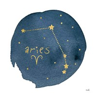 Horoscope Aries Fine Art Print