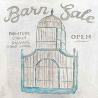 White Barn Flea Market V Fine Art Print