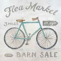 White Barn Flea Market IV Fine Art Print