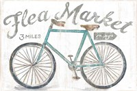White Barn Flea Market I Fine Art Print