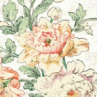 Cottage Roses VI Fine Art Print
