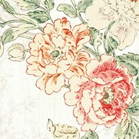 Cottage Roses V Fine Art Print