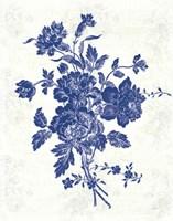 Toile Roses VIII Fine Art Print