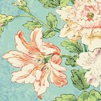 Cottage Roses VII Bright Fine Art Print