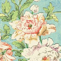 Cottage Roses VI Bright Fine Art Print