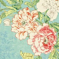 Cottage Roses V Bright Fine Art Print