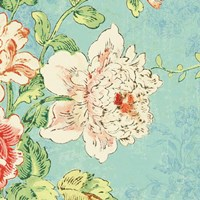 Cottage Roses IV Bright Fine Art Print
