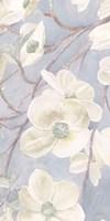Breezy Blossoms II Sage Framed Print