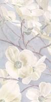 Breezy Blossoms I Sage Framed Print