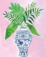 Elegant Chinoiserie I Crop Fine Art Print