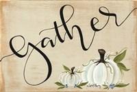 Gather Pumpkins Fine Art Print