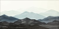 Blue Ridge Mountain Range I Fine Art Print