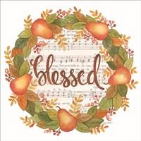 Blessed Wreath Fine Art Print