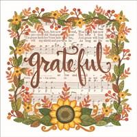 Grateful Wreath Fine Art Print