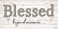 Blessed Beyond Measure Fine Art Print