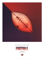 Football X-Ray Fine Art Print
