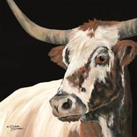 Longhorn Love Fine Art Print