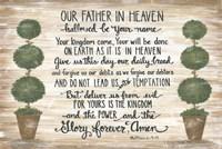 Our Father in Heaven Fine Art Print