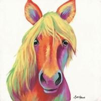 Cheery Horse Fine Art Print