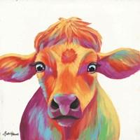 Cheery Cow Fine Art Print