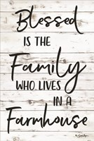 Blessed is the Family Fine Art Print