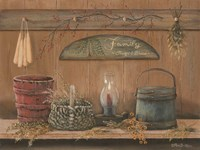 Treasures on the Shelf I Fine Art Print