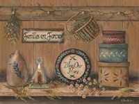 Treasures on the Shelf II Fine Art Print