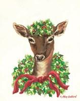 Christmas Doe Fine Art Print