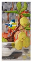 Chickadee with Bonsai Fine Art Print