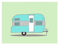 Frolic Camper Fine Art Print