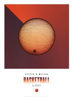 Basketball X-Ray Fine Art Print